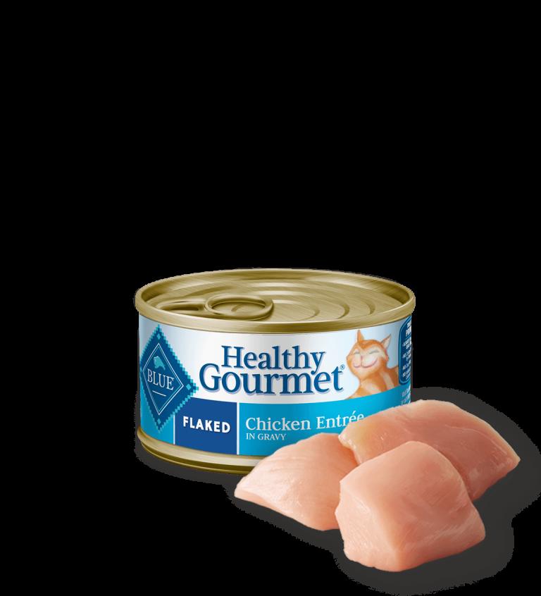 Blue Buffalo Healthy Gourmet Flaked Chicken Entrée In Gravy Wet Cat Food
