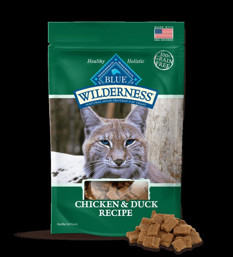 Blue Buffalo Wilderness Chicken & Duck Recipe Cat Treats