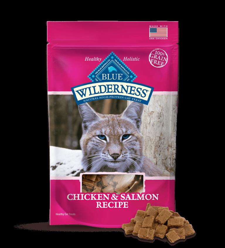 Blue Buffalo Wilderness Chicken & Salmon Recipe Cat Treats