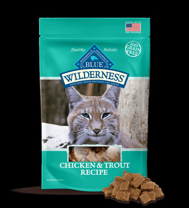 Blue Buffalo Wilderness Chicken & Trout Recipe Cat Treats