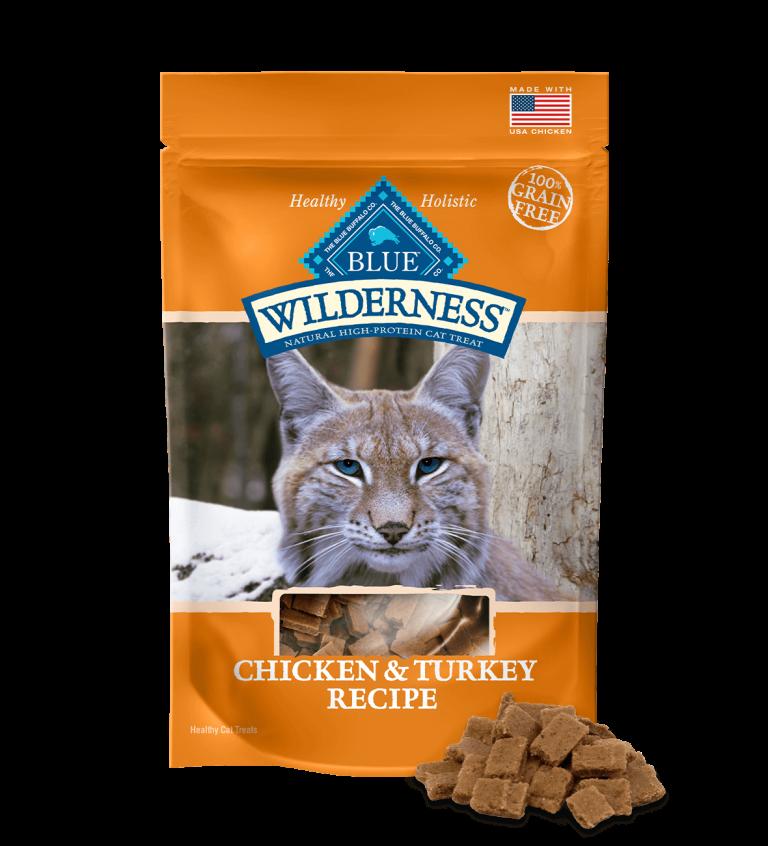 Blue Buffalo Wilderness Chicken & Turkey Recipe Cat Treats