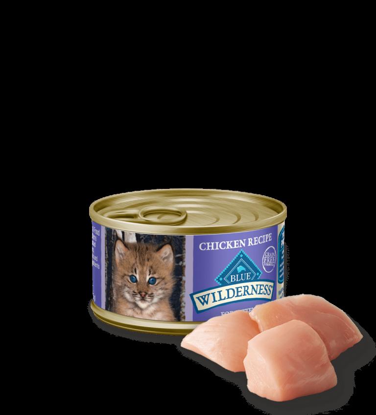 Blue Buffalo Wilderness Chicken Recipe Wet Kitten Food