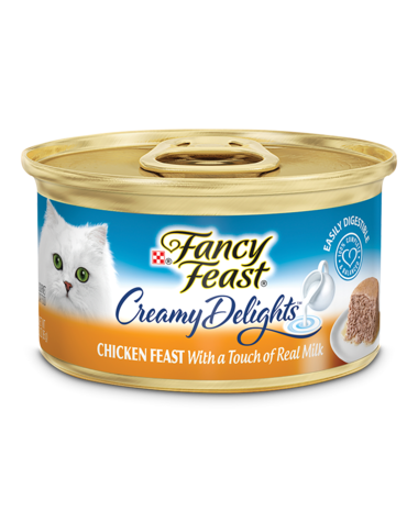 Fancy Feast Creamy Delights Chicken Feast With Milk Wet Cat Food