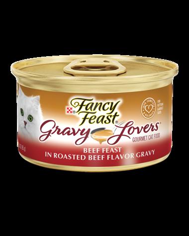Fancy Feast Gravy Lovers Beef Feast In Roasted Beef Flavor Gravy Wet Cat Food