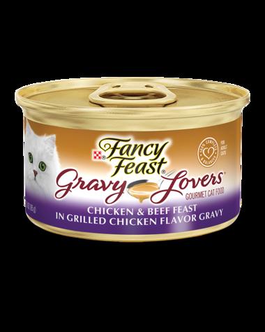 Fancy Feast Gravy Lovers Chicken & Beef Feast In Grilled Chicken Flavor Gravy Wet Cat Food
