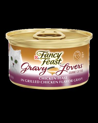 Fancy Feast Gravy Lovers Chicken Feast In Grilled Chicken Flavor Gravy Wet Cat Food