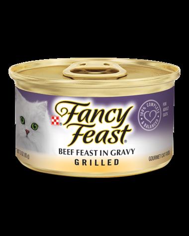 Fancy Feast Grilled Beef Feast In Gravy Wet Cat Food