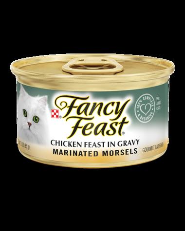 Fancy Feast Marinated Morsels Chicken Feast In Gravy Wet Cat Food