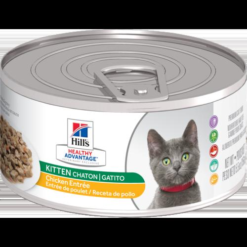 Hill's Pet Healthy Advantage Chicken Entrée Wet Kitten Food