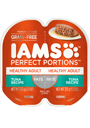 IAMS Perfect Portions Healthy Adult Tuna Recipe Paté Wet Cat Food