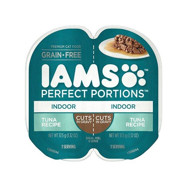 IAMS Perfect Portions Indoor Tuna Recipe Cuts In Gravy Wet Cat Food