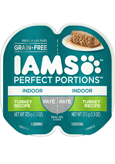 IAMS Perfect Portions Indoor Turkey Recipe Paté Wet Cat Food