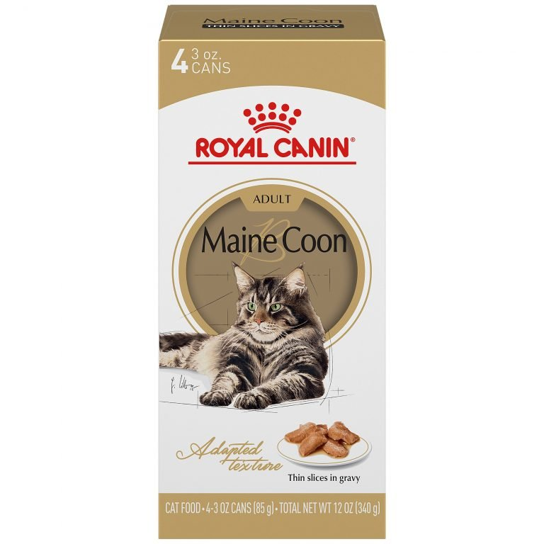 Royal Canin Feline Breed Nutrition Maine Coon Adult Thin Slices In Gravy Wet Cat Food