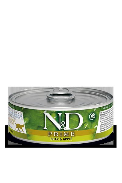 Farmina N&D Prime Boar & Apple Wet Cat Food