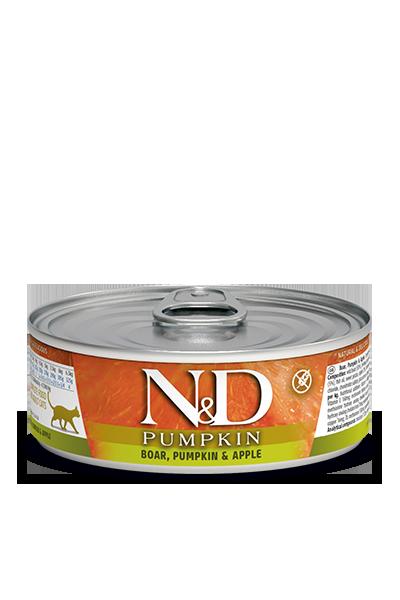 Farmina N&D Pumpkin Boar, Pumpkin & Apple Wet Cat Food