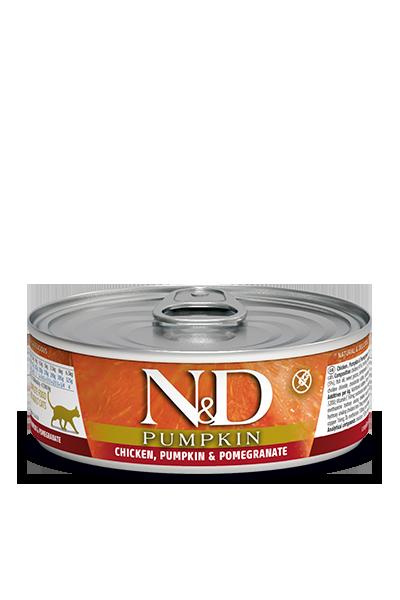 Farmina N&D Pumpkin Chicken, Pumpkin & Pomegranate Wet Cat Food