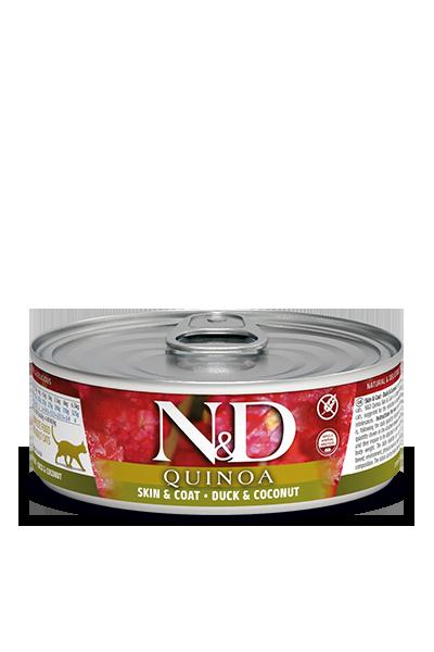 Farmina N&D Quinoa Skin & Coat Duck & Coconut Wet Cat Food