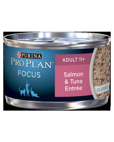Purina Pro Plan Focus Adult 11+ Salmon & Tuna Entrée Wet Cat Food