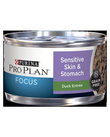 Purina Pro Plan Focus Sensitive Skin & Stomach Duck Entrée Wet Cat Food