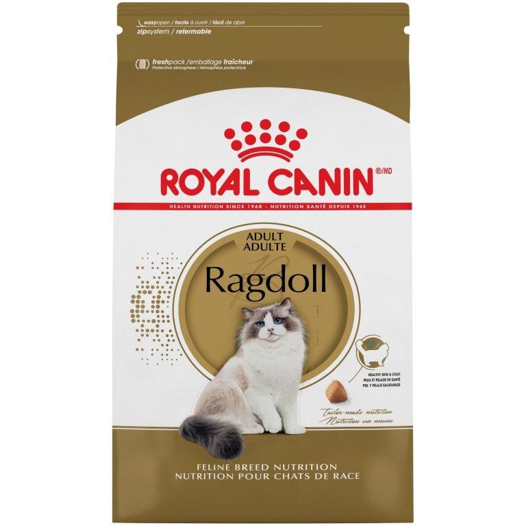 Royal Canin Feline Breed Nutrition Ragdoll Adult Dry Cat Food