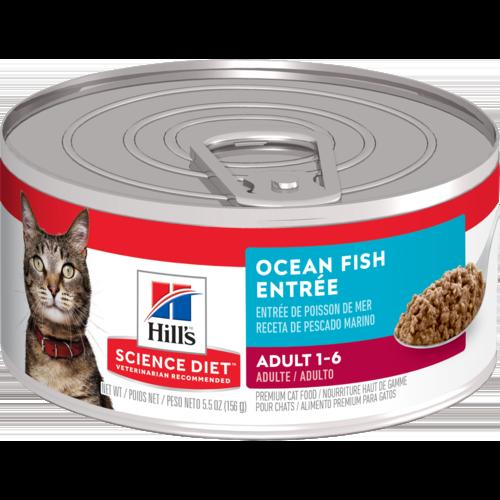 Hill's Pet Science Diet Adult 1-6 Ocean Fish Entrée Wet Cat Food