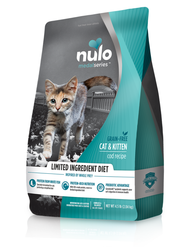 Nulo MedalSeries High-Meat Kibble Limited Ingredient Diet Cod Recipe Review
