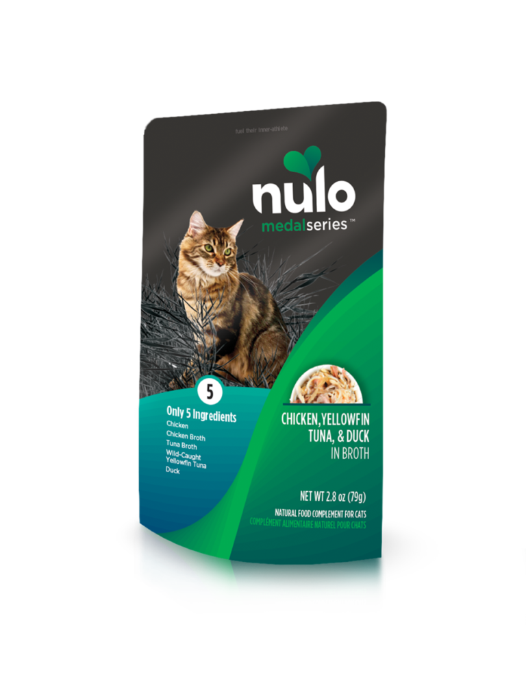 Nulo MedalSeries Chicken, Yellowfin Tuna & Duck In Broth Recipe Review