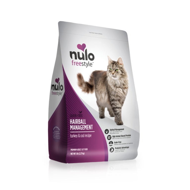 Nulo FreeStyle hairball management Turkey & Cod Recipe Review