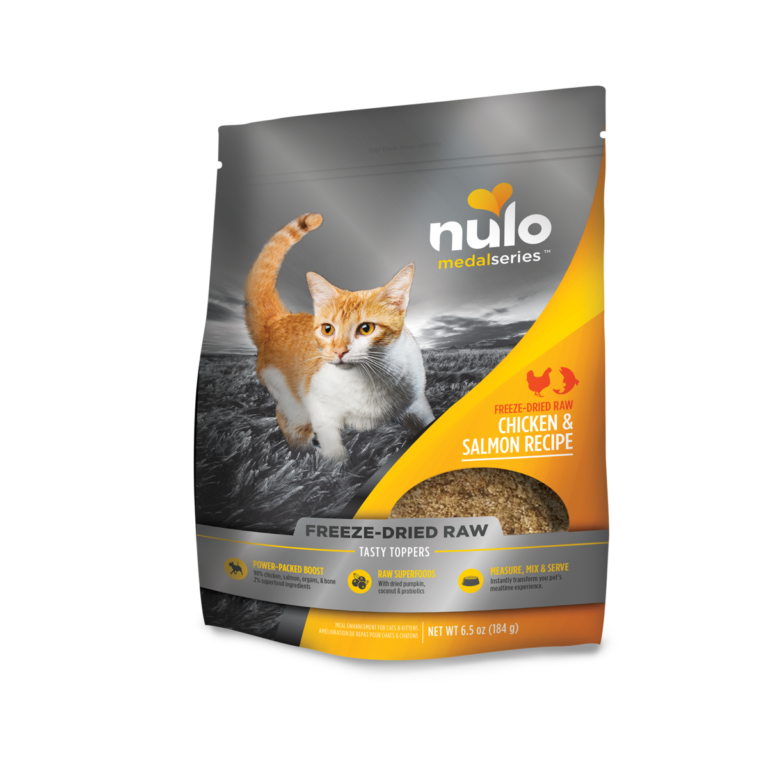 Nulo MedalSeries Tasty Toppers Chicken & Salmon Recipe Review